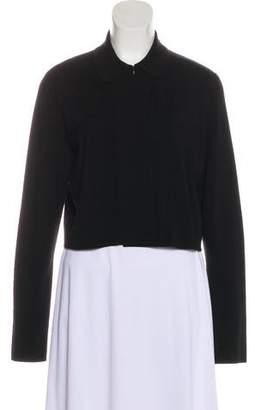 Akris Punto Wool Button-Up Cardigan