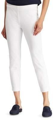 Lauren Ralph Lauren Petite Stretch Twill Skinny Cropped Pants