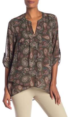 Daniel Rainn DR2 by Polkadot Wrap Styled Blouse