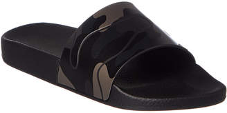 Valentino Camouflage Slide Sandal