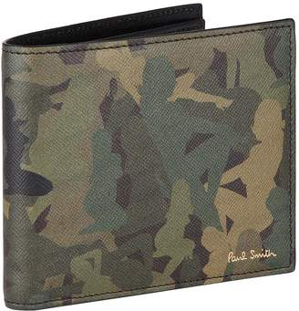 Paul Smith Lady Camouflage Billfold Wallet