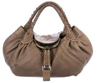 e9fa9901d407 ... lxrandco pre owned luxury vintage 2effa 4947f  reduced pre owned at  therealreal fendi leather spy bag 1f74d 96f20