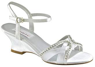 Dyeables Women's Peg Wedge Sandal