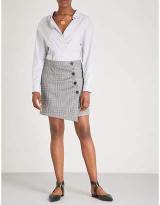 Maje Ramie cotton and woven dress