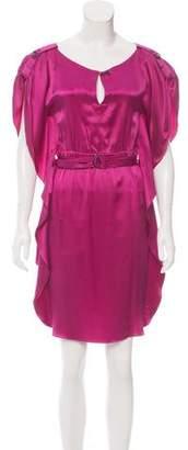 Yoana Baraschi Silk Mini Dress
