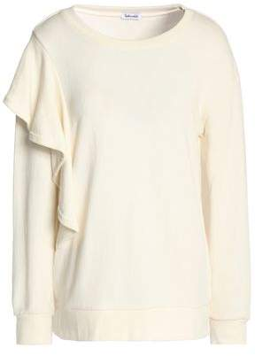 Splendid (スプレンディッド) - Splendid Ruffled French Cotton-Terry Sweatshirt