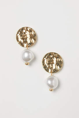 H&M Earrings - White