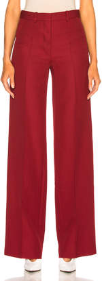 Victoria Beckham Wool Wide Leg Trousers