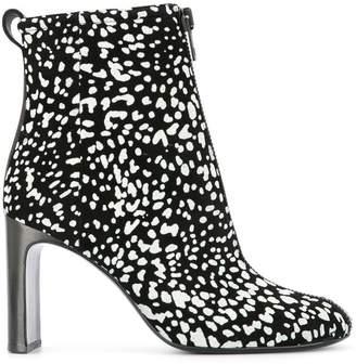 Rag & Bone contrasting panel boots