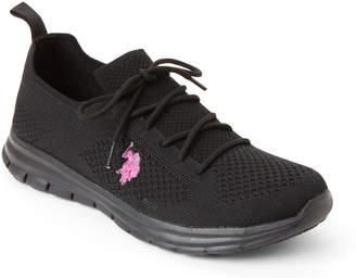 U.S. Polo Assn. Black & Fuchsia May Sneakers