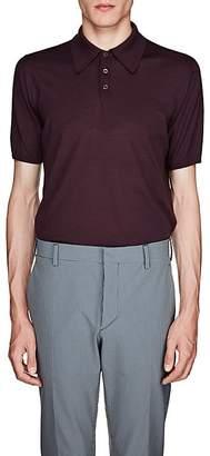 Prada Men's Virgin Wool Polo Shirt
