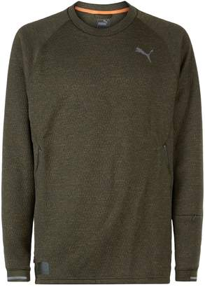 Puma Actum Textured Sweatshirt