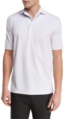 Peter Millar Sean Chesapeake Striped Jersey Polo Shirt