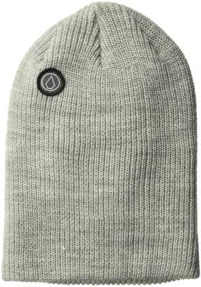 Volcom Junior's Power Double Knit Fine Acrylic Snowboarding Beanie