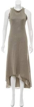 Brunello Cucinelli Linen & Silk Maxi Dress