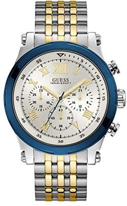 GUESS Men's Stainless Steel Two Tone Watch