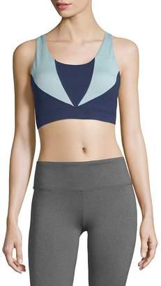 Gaiam Women's Heather Mix Halter Sports Bra