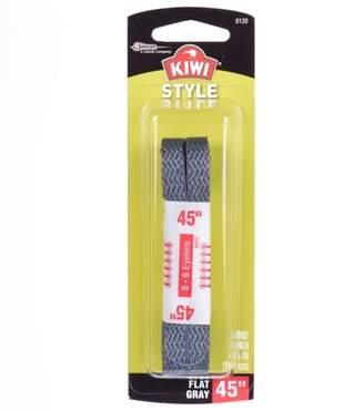 """Kiwi Flat Laces Grey 45"""" 2 pairs"""