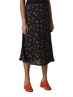 Whistles Micro Floral Skirt