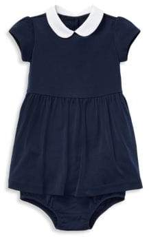 Ralph Lauren Girl's Peter Pan Collar Dress