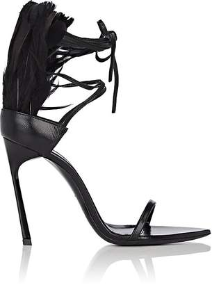 Saint Laurent Women's Talitha Leather Sandals