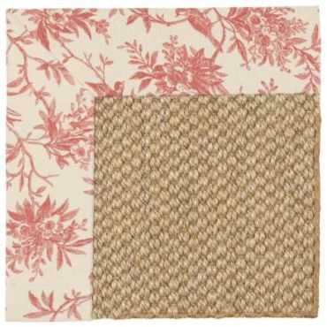 Custom Fabric Border Sisal Rugs -Pattern