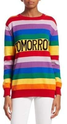 Alberta Ferretti Rainbow Tomorrow Sweater