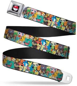 Pokemon Buckle Down Buckle-Down Men's Seatbelt Belt Kids