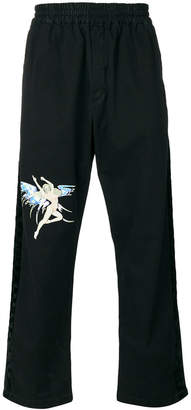 Off-White fairy print track pants
