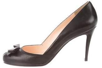 sale retailer 47dcd b502d Louboutin Bow Heels - ShopStyle