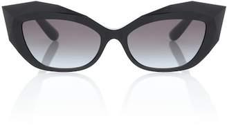 Dolce & Gabbana Logo Plaque acetate sunglasses