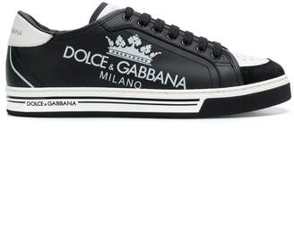 Dolce & Gabbana printed Roma sneakers