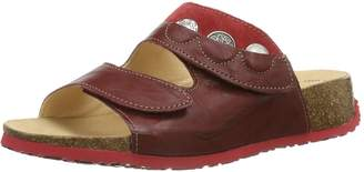 Think! Womens Mizzi 88364 Rosso Leather Sandals