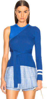 Maggie Marilyn I'm Half Way There Sweater in Royal Blue | FWRD