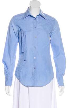 Paul Smith Collared Button-Up Top
