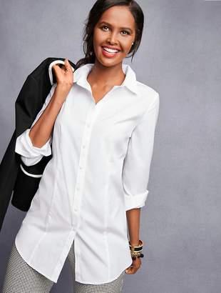 Talbots Longer Length Perfect Shirt - Solid