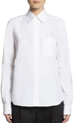 LanvinLanvin Logo Poplin Shirt