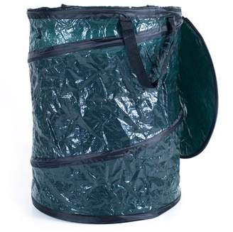 Trademark Collapsible Utility Bin Garbage Can with Lid