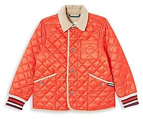 Burberry Little Kid's & Kid's Culford Quilted Bomber Jacket