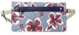 Valentino Floral Leather Belt Bag