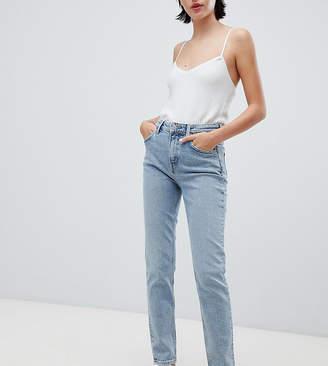 Weekday way high waist skinny jeans in blue