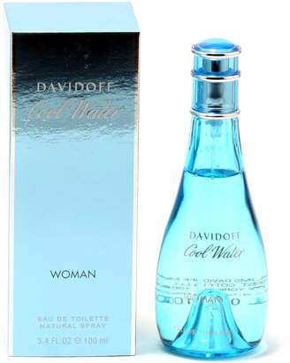 Davidoff Cool Water Woman Eau de Toilettte, 3.4 fl. oz.