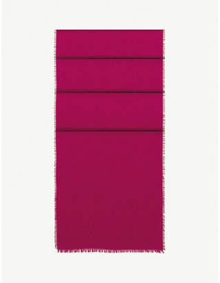 Loewe Anagram jacquard scarf