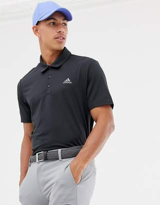 adidas Ultimate 365 Polo In Black