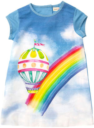 Papergirl Collection Balloon Cotton Dress - Size 5-6y