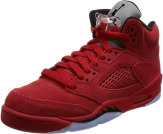 Nike Jordan Kid's Air 5 Retro BG, UNIVERSITY RED/BLACK-UNIVERSITY RED, Youth