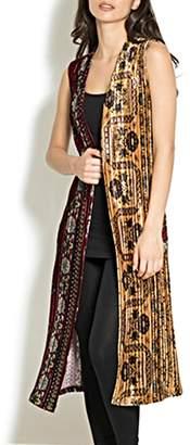 Adore Tapestry Velvet Vest