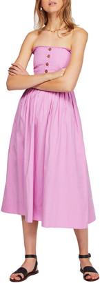 Free People Lilah Strapless Maxi Dress