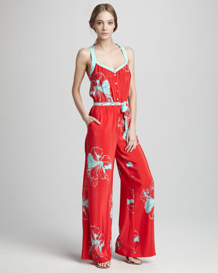Oonagh by Nanette Lepore Paul Floral-Print Jumpsuit