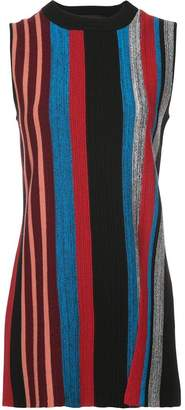 Proenza Schouler striped longline sweater vest